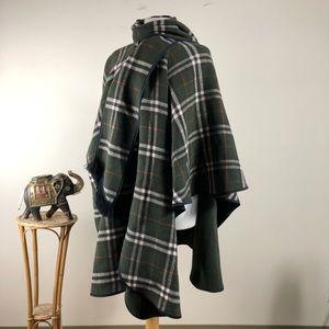 James Pringle Weavers Inverness Wool Cape